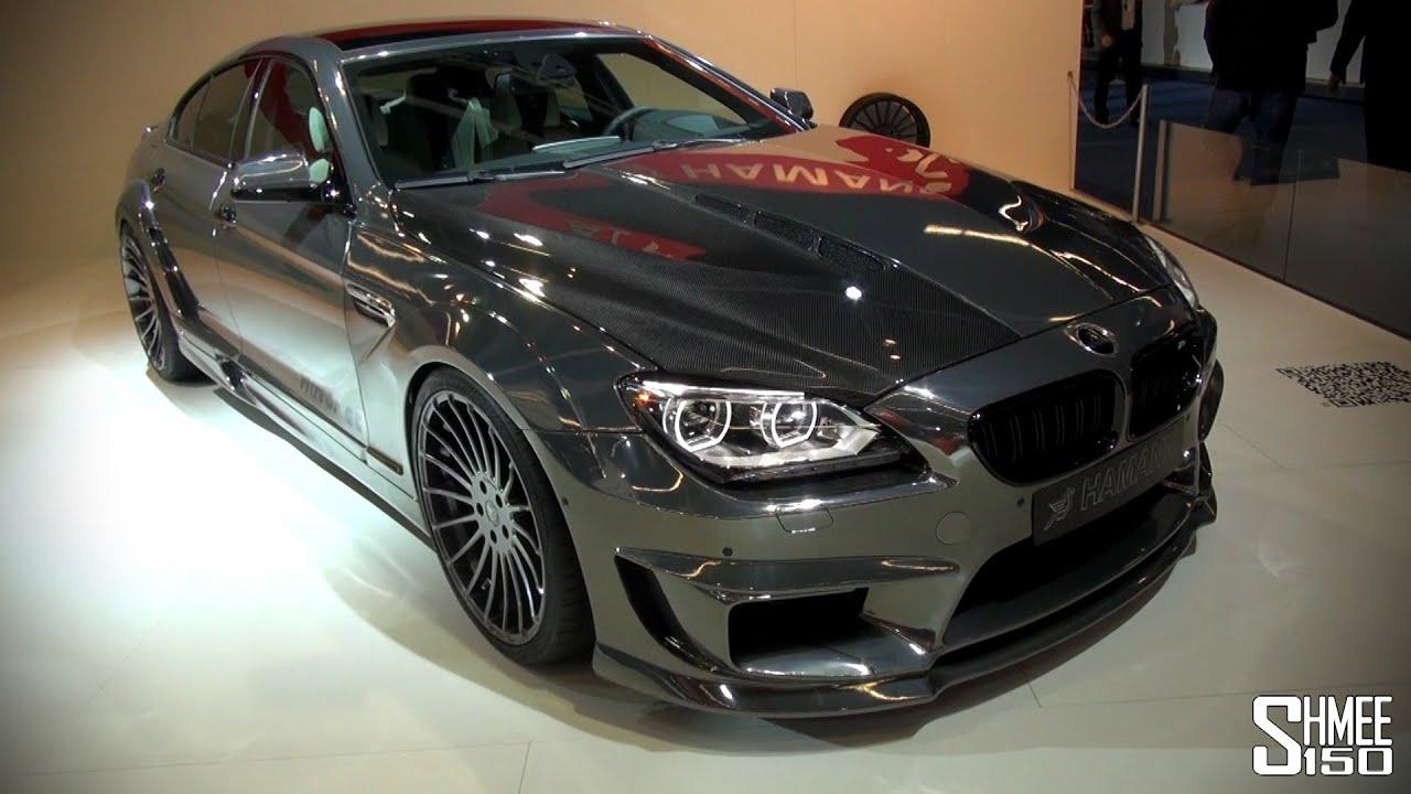 First Look Hamann Mirr6r M6 Gran Coupe Iaa 2013 Youtube