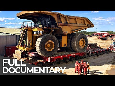 Extremely Heavy Mining Truck   Mega Transports   Free Documentary