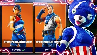 "NEW Fortnite ""FIREWORKS TEAM LEADER"" Skin Gameplay! (Fortnite Battle Royale Item Shop Update)"