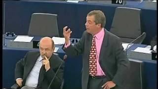 Nigel Farage: I want you all fired!
