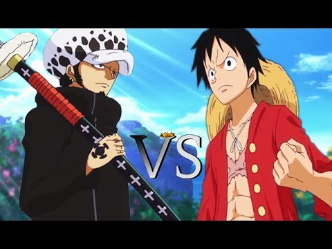 Monkey D. Luffy Vs Trafalgar Law - Who is the Better Fighter? - One Piece Discussion