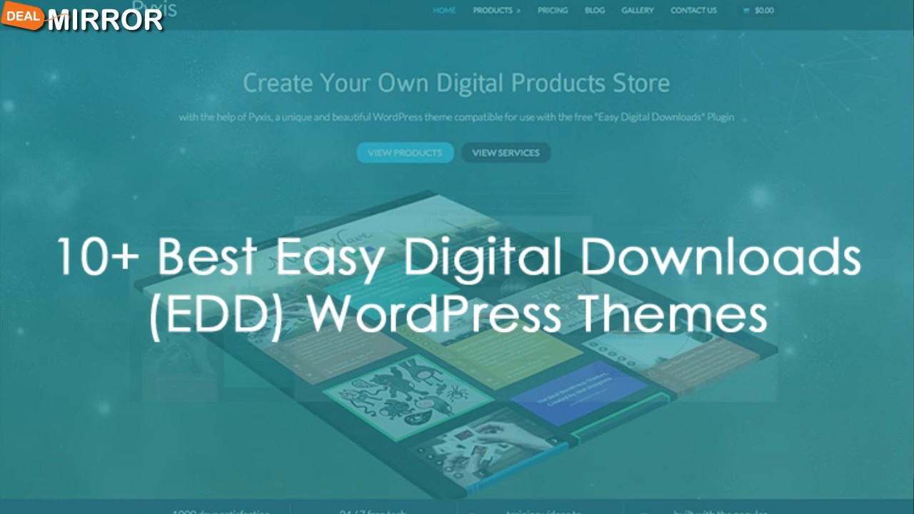 10+ Best Easy Digital Downloads (EDD) WordPress Themes 2016