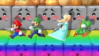 Mario Party 10 MiniGames - Mario Vs Luigi Vs Donkey Kong Vs Rosalina (Master Cpu)