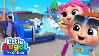 Играем В Машинки Детки На Автомойке Веселые Развивающие Песенки Для Де