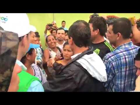 """""""Me llama la atención que hay mucho güero, por acá"""": Peña Nieto"""