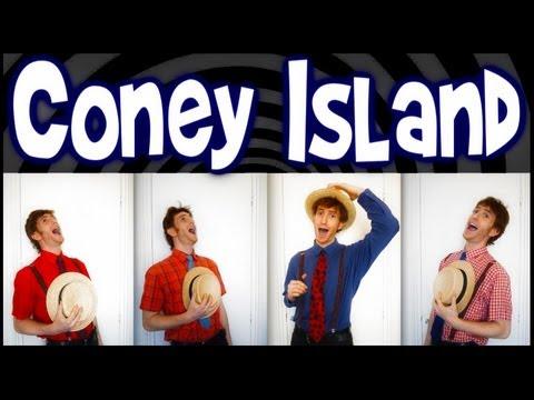 Coney Island Baby (Simpsons) - One Man Barbershop Quartet - Trudbol A Cappella