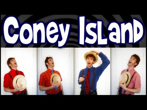 Coney Island Baby (Simpsons) - One Man Barbershop Quartet - Trudbol A Cappella