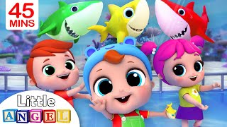 Download Baby Shark Dance | Nursery Rhymes by Little Angel Mp3 and Videos