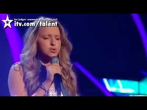 "Olivia Archbold ""What If"" Kate Winslet - Semi Final - Britain's Got Talent!"