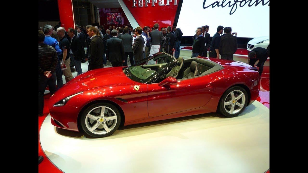 Salon De L Auto >> Salon De L Auto A Geneve Edition Du 8 Mars Ferrari California T Renault Twingo Iii Carplay