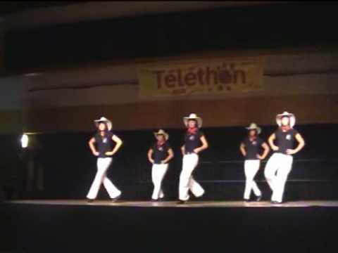jambalaya t l thon 2008 line dance country danse fever club youtube. Black Bedroom Furniture Sets. Home Design Ideas