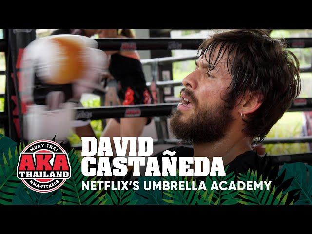David Castañeda trains Muay Thai before filming Netflix's Umbrella Academy Season 2 | AKA Thailand