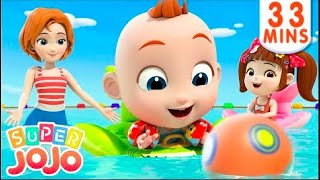Download Super Jojo Nursery Rhyme - Lets Go To The Beach Song And More -
