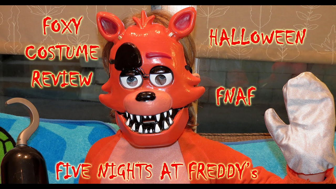 FOXY Child Costume| UNBOXING Video Review| HALLOWEEN| FNAF| Five Nights at Freddyu0027s| OskieWhiskie - YouTube & FOXY Child Costume| UNBOXING Video Review| HALLOWEEN| FNAF| Five ...