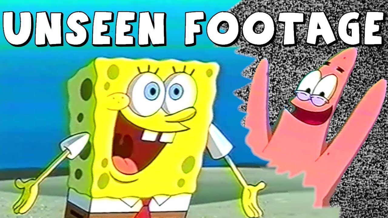 Rare spongebob footage you havent seen
