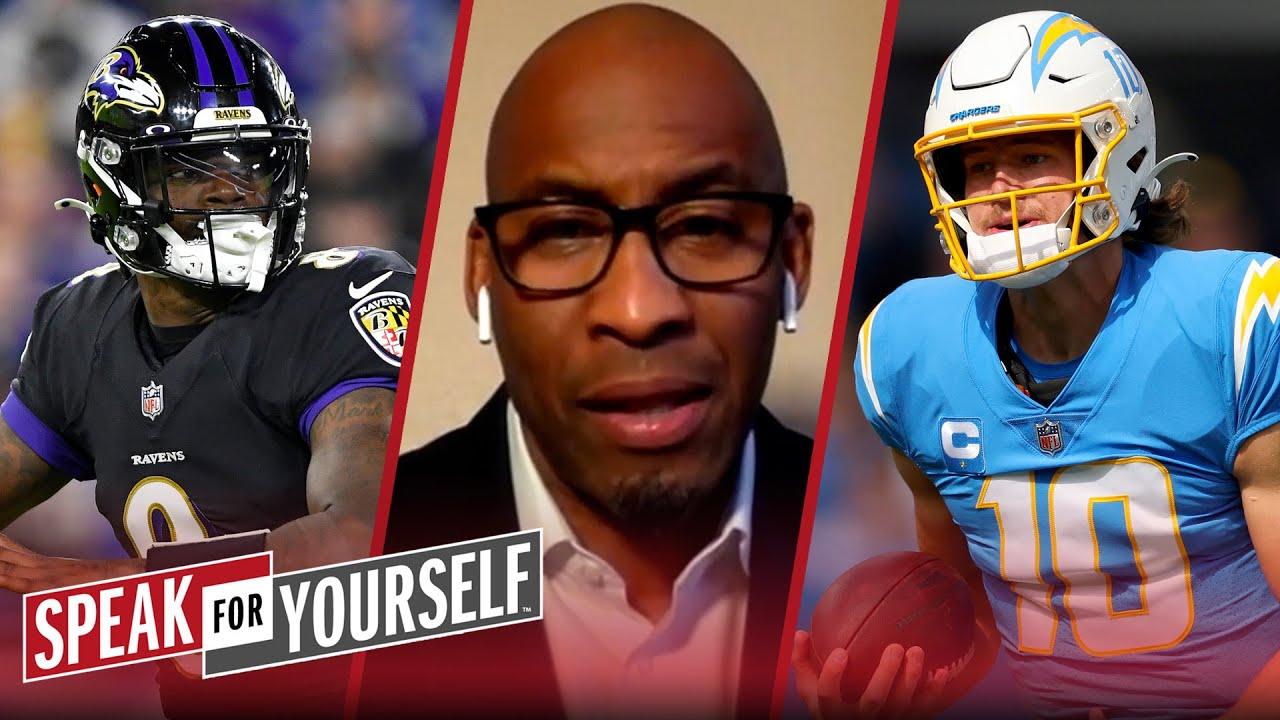 I'd rather have Lamar Jackson than Justin Herbert - Bucky Brooks | NFL | SPEAK FOR YOURSELF