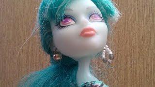 Мастер класс как сделать сережки для куколок монстер хай. Эксклюзивно для канала Angelville!!!