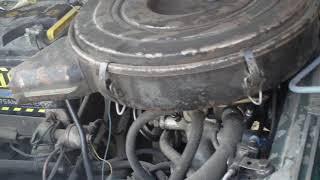 Змз 406 троит после замены воздушного фильтра