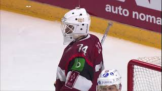 LATVIA 1-2 SWITZERLAND /HIGHLIGHTS/ EURO ICE HOCKEY CHALLENGE