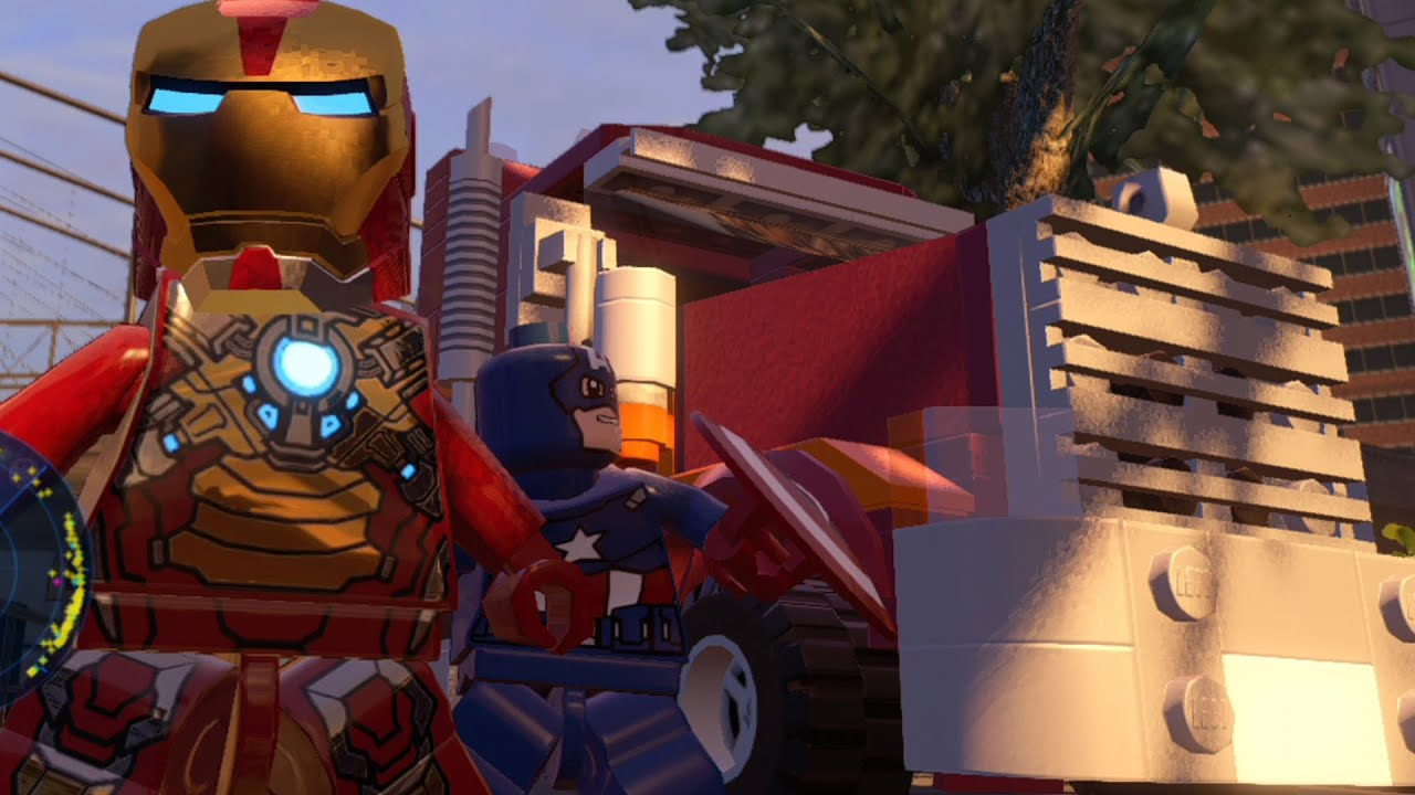 LEGO Marvel's Avengers - All 38 Playable Land Vehicles ...
