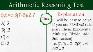 Arithmetic Reasoning Test Solved & Explained screenshot 4