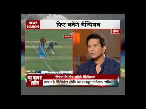 Sachin Dil Se on News Nation: 'Nation expects a lot from Virat in ICC Champions Trophy'