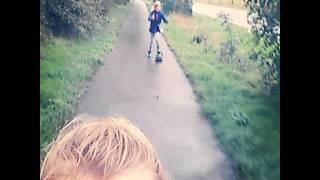Ein kleiner Trip mit dem Skateboard/Longboard