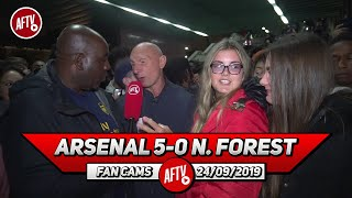 Arsenal 5-0 Nottingham Forest | Chambers Was Outstanding Tonight! (Lee Judges)