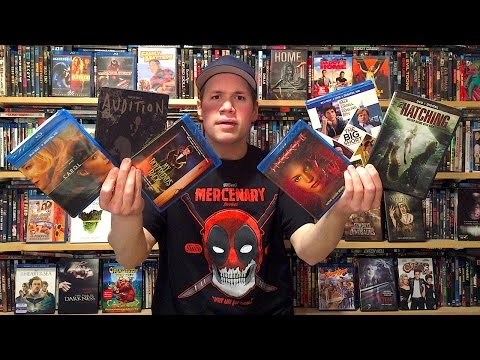 My Blu-ray Collection Update 3/5/16 : Blu ray and Dvd Movie Reviews