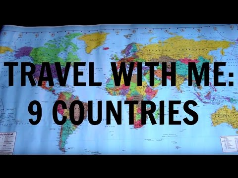 Travel With Me! (Through 9 Countries)