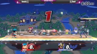 S11 Smash Wii U - Awestin (Ness) vs Bwett (Falcon) - Grand Finals