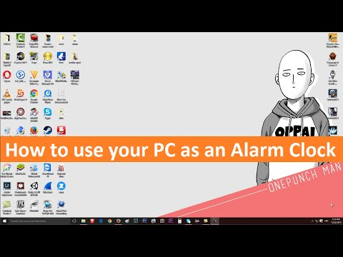 Turn Your Pc Into An Alarm Clock Without Any Program ...