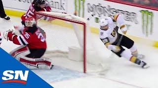 Alex Tuch Uses Wraparound To Tuck Goal By Cory Schneider