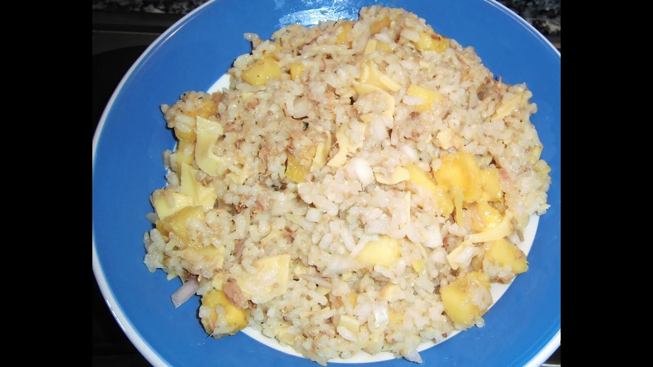 Ensalada de arroz con pi a y at n youtube - Ensalada de arroz y atun ...