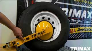 Trimax TWL100 Pair of Adjustable Wheel Locks