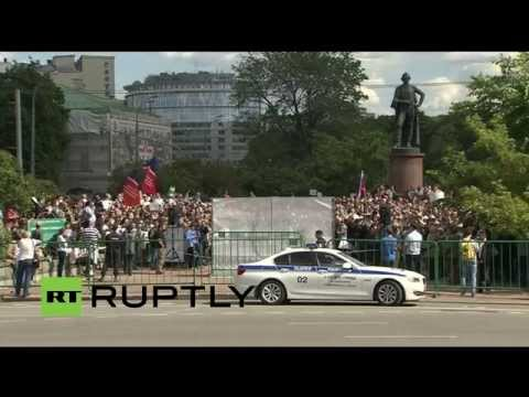 LIVE: Opposition rally in Moscow against existing science and education policies
