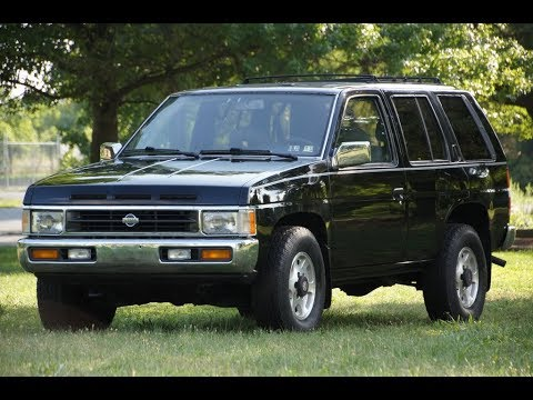 1995 nissan pathfinder le 4wd youtube 1995 nissan pathfinder le 4wd
