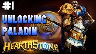 🎮HearthStone - Gameplay #1🎮 Unlocking Paladin