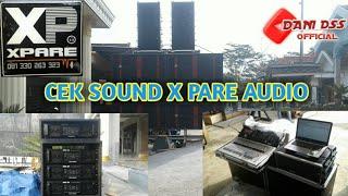 Gambar cover CEK SOUND X-PARE AUDIO DI DEPAN MARKAS