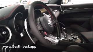 видео Релиз 2018 Alfa Romeo Stelvio: версия 505-HP