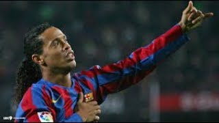 Goodbye King of the Football - Ronaldinho Best skills & Goals