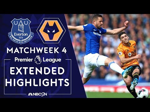 Everton v. Wolves | PREMIER LEAGUE HIGHLIGHTS | 9/1/19 | NBC Sports