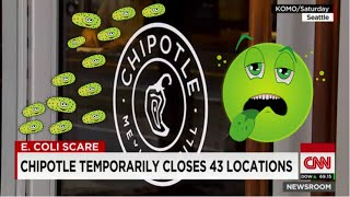 Chipotle Closes Dozens of Stores in Washington and Oregon in E. coli Scare