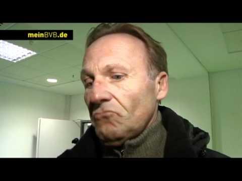 VfL Wolfsburg - BVB: Freies Interview mit Watzke