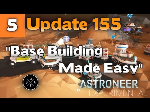Building Bases Made Easy✓ | COAL POWER | Astroneer Patch 155 | Experimental Update Season 2 Ep 5