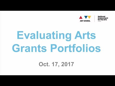 Evaluating Arts Grant Portfolios
