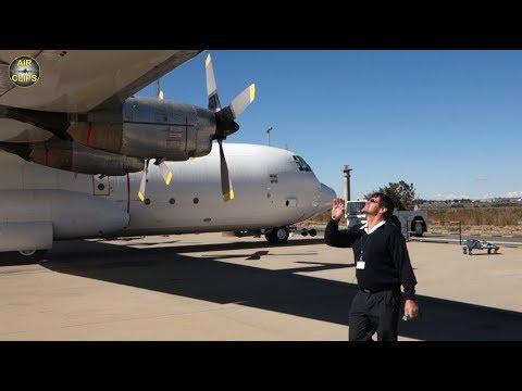 Full Lockheed Hercules L100-30 (C-130/L-382G) WALKAROUND tutorial presented Safair! [AirClips]
