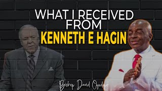 WHAT I RECEIVED FROM KENNETH E HAGIN ll BISHOP DAVID OYEDEPO