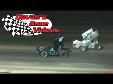 July 10, 2015 | URSS Sprint Car A-Main | Wakeeney Speedway
