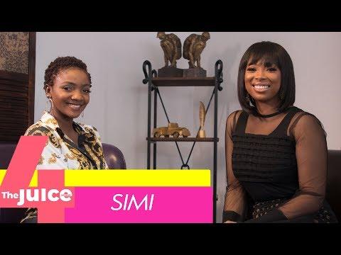 How Simi met Adekunle Gold,Simi met Adekunle Gold on facebook,Adekunle Gold and I met via Facebook Simi,